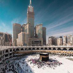 Makkah Al-mukaaramah 🕋 ( Mecca Madinah, Mecca Masjid, Islamic Wallpaper Hd, Mecca Wallpaper, Islamic Images, Islamic Pictures, Islamic Art, Mecca Hotel, Mosque Architecture