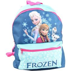 You'll be fully prepared for snowy adventures with this Frozen back pack. Now just £6!