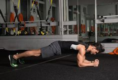 3. Plank Walk #abs #workout #exercises http://greatist.com/move/abs-workout-unexpected-moves-that-work-better-than-crunches