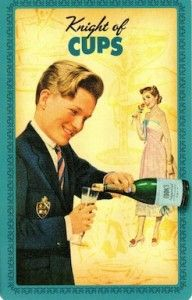 Housewives Tarot - Knight of Cups