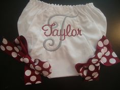 Aggie Baby Girl Bloomers by CoughlinCrafts on Etsy