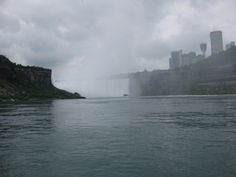 Approaching Falls on Maid of the Mist, Niagara