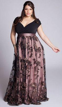 Modelos de vestidos plus size More