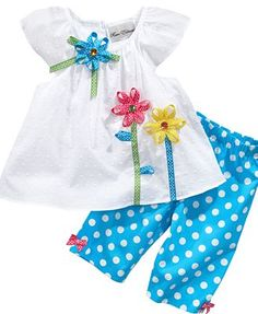 Can't wait for summer! Sewing Baby Clothes, Girl Doll Clothes, Baby Sewing, Toddler Dress, Toddler Outfits, Kids Outfits, Toddler Fashion, Kids Fashion, Baby Dress Design
