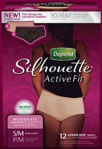 FREE Depend Silhouette Active Fit Product Sample on http://hunt4freebies.com