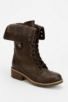 Wanted Recruit Fold-Over Combat Boot