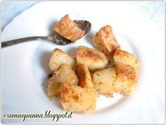 Crema e panna: Patate sabbiate con amc