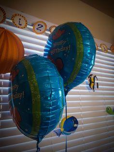 Finding Nemo - Elizabeth's 1st Birthday Party - Decorations