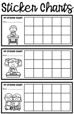 Sticker charts for positive behavior support Behavior Sticker Chart, School Behavior Chart, Behavior Chart Preschool, Classroom Behavior Chart, Behavior Incentives, Behaviour Chart, Behavior Management, Behavior Chart For Preschoolers, Behavior Plans