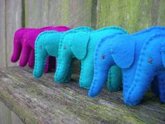 Tiny Elephant pdf sewing pattern. $8.00, via Etsy.
