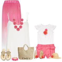 A fashion look from July 2014 featuring River Island tops, Tory Burch flip flops and Flora Bella tote bags. Browse and shop related looks. Mother Daughter Dates, Mother Daughter Fashion, Mother Daughter Matching Outfits, Mom Daughter, Twin Outfits, Mommy And Me Outfits, Kids Outfits, Cute Outfits, My Bebe
