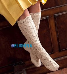 Knee Socks, Knitting Socks, Leg Warmers, Tights, Sewing, Projects, Fashion, Moda, Blue Prints
