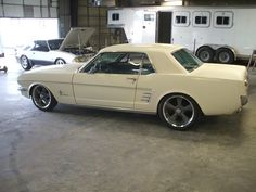 1965/1966 mustang..wheels too big? - Page 2
