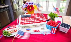 Home & Family - Recipes - Cristina Cooks an American Flag Cake! | Hallmark Channel