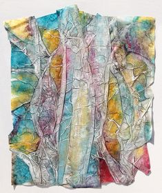 Isabella S. Minichmair Austrian Painter, Photographer and Glass Designer - I´m always looking for colour, textur and spatiality to invastigate and convey information, emotion and enviroment. Designer, Bows, Inspired, Painting, Color, Inspiration, California, Art, Paper