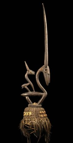 "Antelope dance crest ""tijwara"" from the Bamana people of Mali Africa Tribes, Africa Art, Statues, African Sculptures, Art Premier, African Artists, Art Sculpture, Masks Art, Historical Art"
