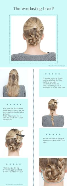 For those of us who can't French braid