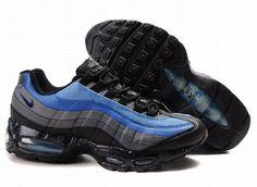 314074-401 Nike Air Max 95 Harbor Blue Black Varsity Royal Midnight Navy AMFM0624