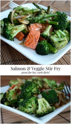 Salmon and Veggie St