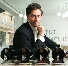 Kilian Hennessy must be the most handsome perfumer in the (modern) world