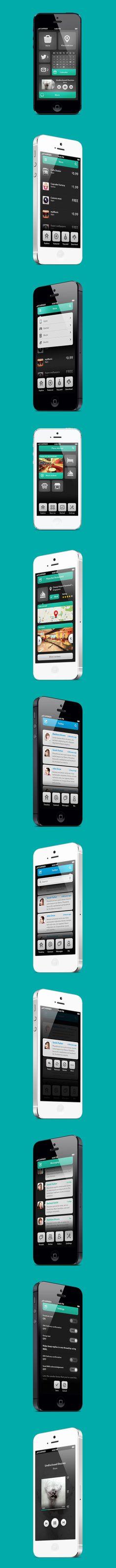 Phone UI Retina – Natalie