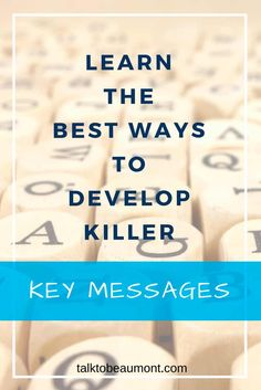 It can be difficult to know what you want to say if you haven't taken the time to develop your key messages. Here's how everyone - freelance to multinational - can develop killer key messages Corporate Communication, Effective Communication, Writing Words, Know What You Want, Copywriting, Messages, Key, Good Things, How To Plan