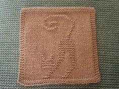 Ravelry: Stretching Cat pattern by Louise Sarrazin Knitting Blocking, Knitting Squares, Dishcloth Knitting Patterns, Crochet Dishcloths, Knit Or Crochet, Loom Knitting, Knitting Stitches, Crochet Crafts, Baby Knitting