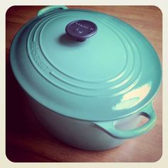 Le Creuset French Ovens_  I grew up stirring together risottos and polenta in my mother's orange oval Le Creuset. When I married, I was given a cherry red French Oven that has served me tirelessly for the past 9+ years. Pasta sauces, curries, rice pudding – you name it, this pot is seldom empty in my kitchen.    It's no secret I adore Le Creuset. I use their ramekins and roasters, recently acquired the lovely oval French Oven above, and have my eye on a cheery Demi Teakettle for my next…