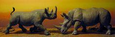 Black Rhinoceros (Safari Ltd - Wild Safari Wildlife) - Animal Toy Forum