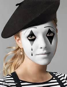 halloween scary mime costumes - Google Search