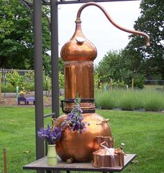 Lavender Distillation at Moonshadow Lavender Farm