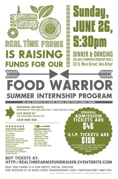 fundraiser poster examples