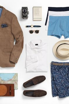 Vacation checklist. Everything you need for your break from the city. H&M. #HMMEN