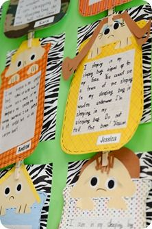 Sleeping Bag Poem Love This Idea For A Camping Themed Unit Students Write