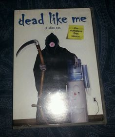 Dead Like Me - The Complete First Season (DVD, 4-Disc Set)