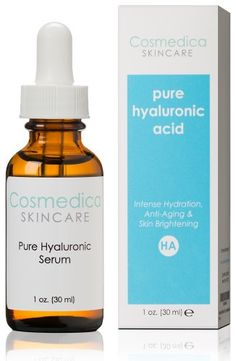 Best-Selling Hyaluronic Acid Serum for Skin-- 100% Pure-Highest Quality, Anti-Aging Serum-- Intense Hydration + Moisture, Non-greasy, Paraben-free-Best Hyaluronic Acid for Your Face (Pro Formula) Cosmedica Skincare,http://www.amazon.com/dp/B00CLILRMY/ref=cm_sw_r_pi_dp_e20utb0V4MPHQN80