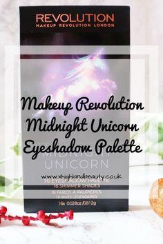 Makeup Revolution Midnight Unicorn Eyeshadow Palette