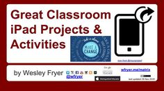 Podcast450: Great Classroom iPad Projects and Activities (Nov 2016)
