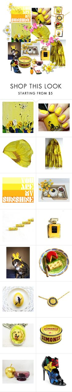 """You are my Sunshine"" by anna-recycle ❤ liked on Polyvore featuring Grund, Chanel, Dolce&Gabbana, modern, rustic and vintage"