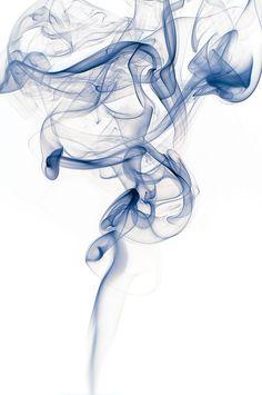 blue smoke by Arnold Bartel - Photo 57377936 / Smoke Drawing, Smoke Painting, Smoke Art, Rauch Tapete, Rauch Fotografie, Smoke Tattoo, Smoke Wallpaper, Smoke Photography, Ink In Water