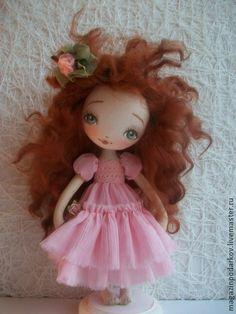Коллекционные куклы ручной работы. Ярмарка Мастеров - ручная работа Кукла Миранда. Handmade.