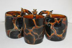 Giraffe Mug PREORDER for early of MARCH Delivery by KellyVaasArt, $20.00