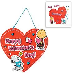 Amazon.com: Valentine Day Craft kit | Heart Picture Photo Frame Kit, Peanut Snoopy Magnets, Love Sign Decor Kit & Love You to Pieces Kit | Classroom Exchange Sunday School Homeschool Art Supplies Activities Gift: Toys & Games