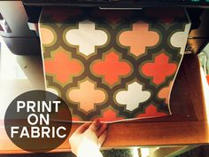 Grosgrain: YOU CAN PRINT ON FABRIC WITHOUT ANYTHING MORE THAN FABRIC AND YOUR PRINTER!