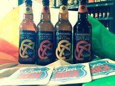 The Beer Dock, Crewe, UK. Finnbarra cider Dry and Medium Dry