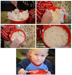Snow Ice Cream!  Plus more ideas for a Winter Themed Unit! - Not Just Cute