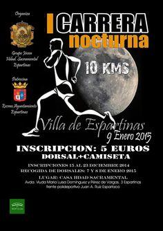 Carrera nocturna en Espartinas.