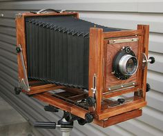 Ansco 8x10 Folding Large Format View Camera
