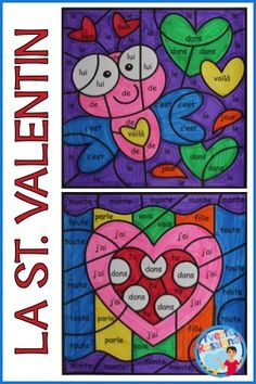 valentine coloring pages french - photo#37