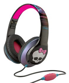 Look what I found on #zulily! Monster High Over-Ear Headphone Set by Monster High #zulilyfinds